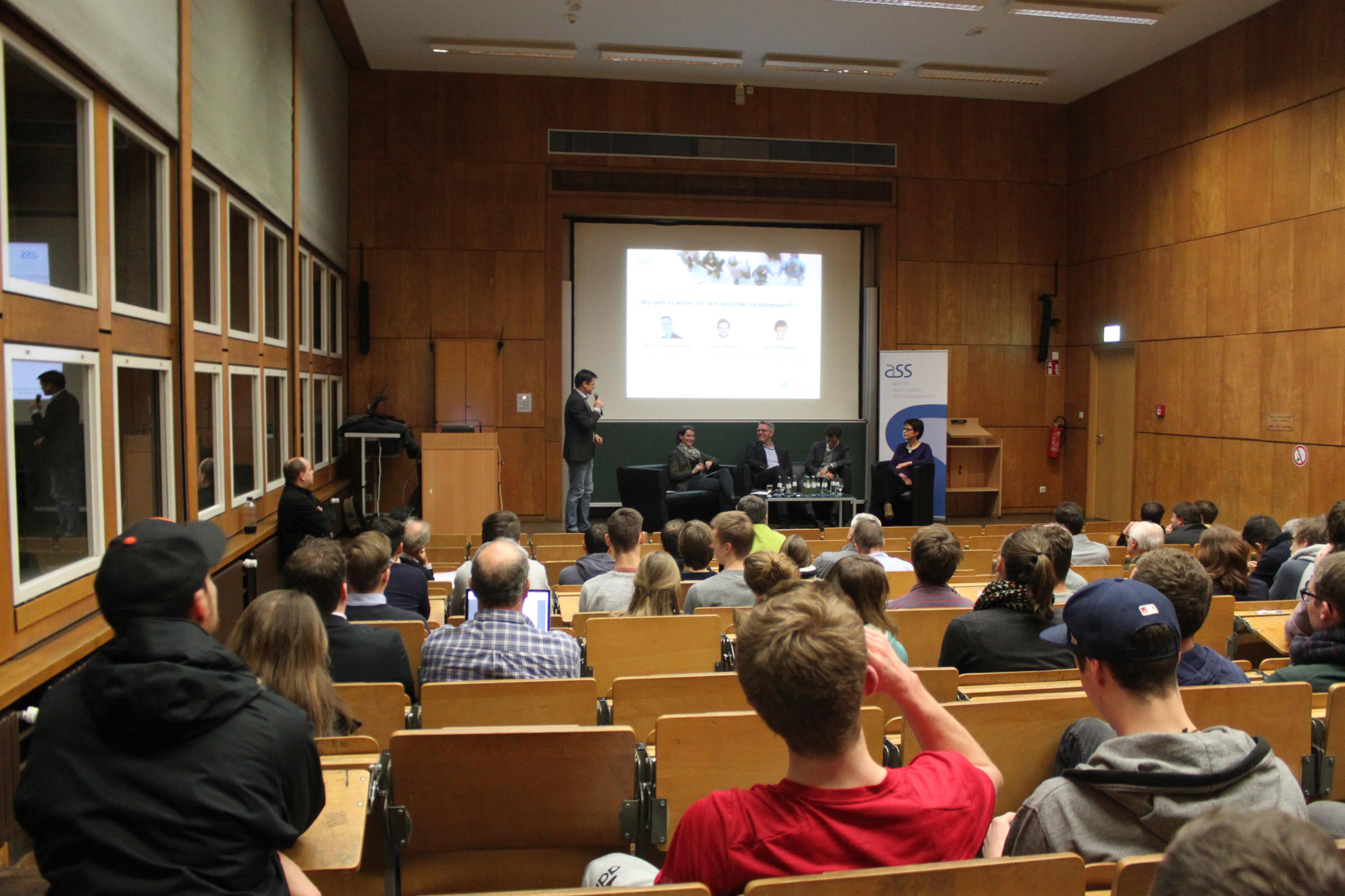 7. ASS Sportbusiness-Talk: Eine Chance für den deutschen Leistungssport