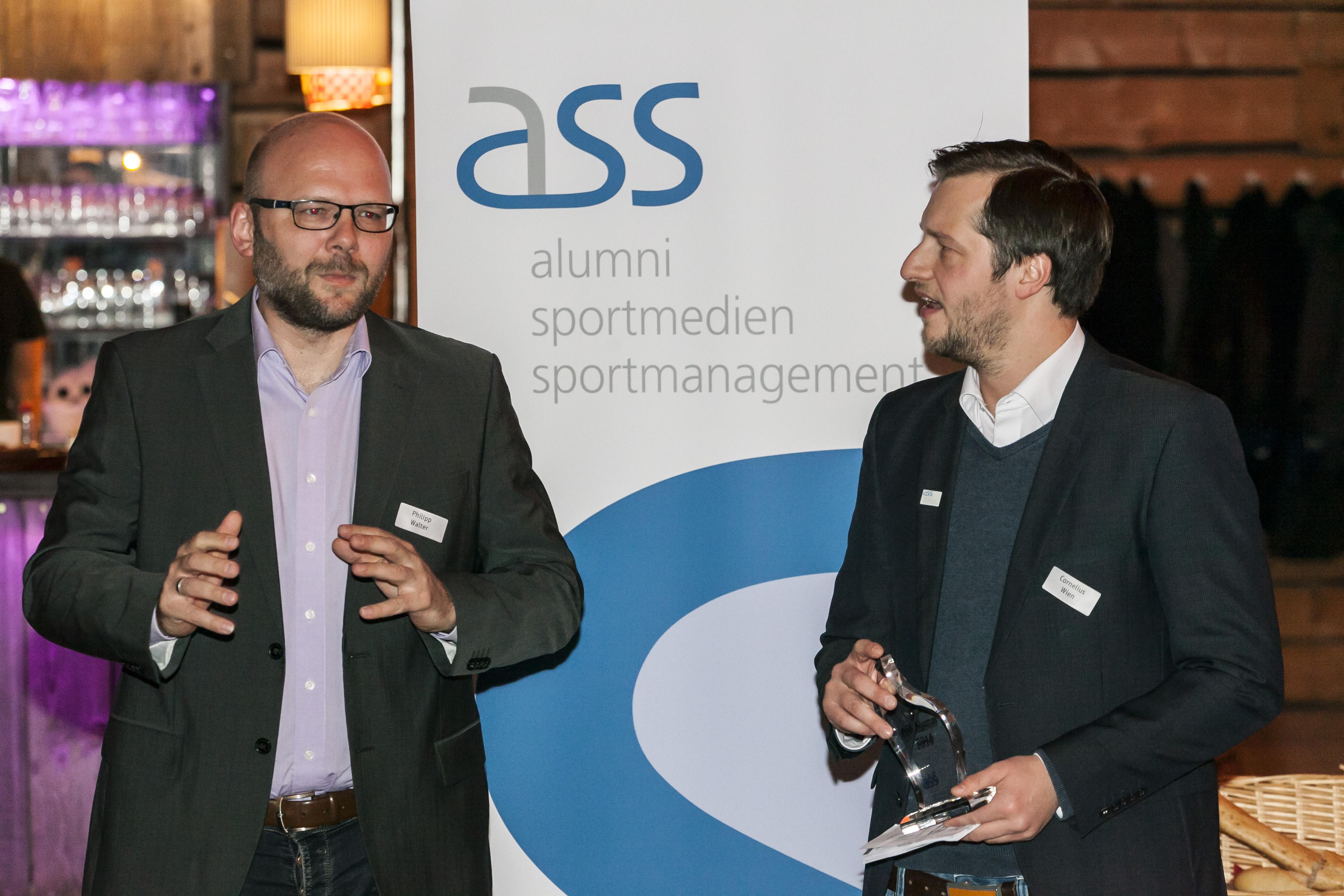Gelungenes Homecoming 2016 - Preisträger sind Ruwen Schleuning und Philipp Walter
